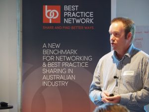 Presenter, Andrew Spence, BlueScope