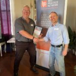Congratulations Jim Glover - Victorian Best Practice Networker of the Year